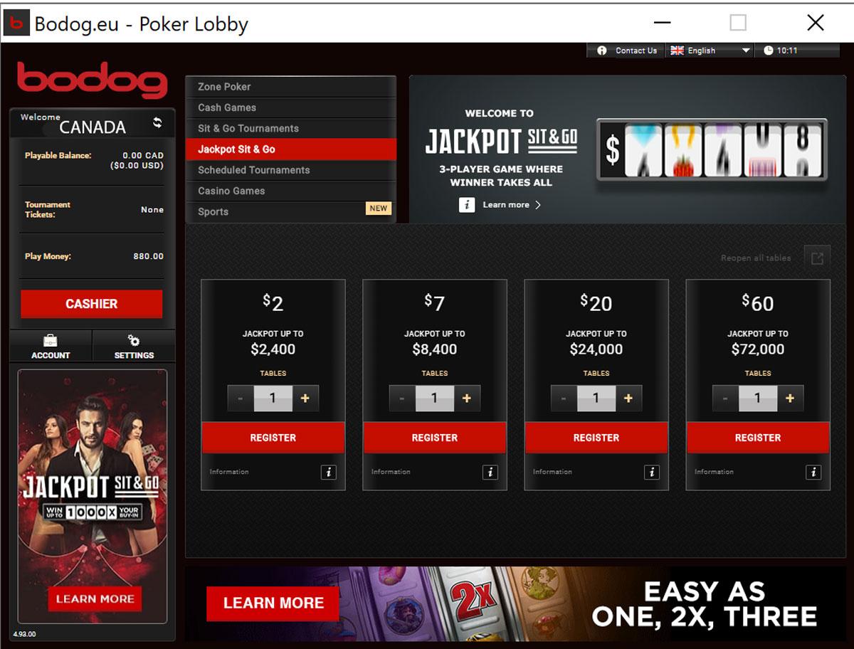 Bodog Poker Reviews