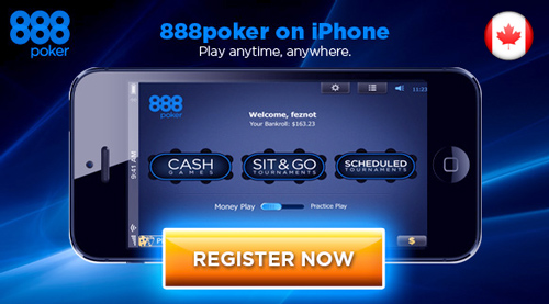 Play poker online on your iphone