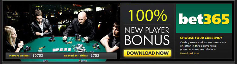 Play Bet365 Poker Online
