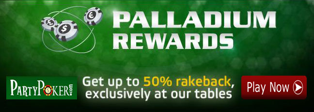 Party Poker High Stakes Cash Game Rewards